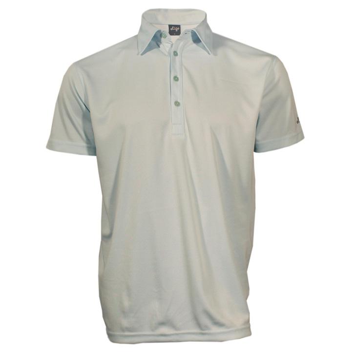 Sligo Mentor Golf Shirt - Seafoam