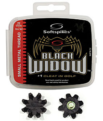 Softspikes Black Widow Cleats