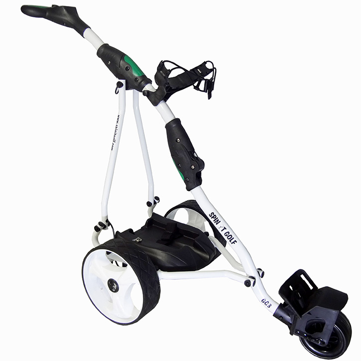 Spin It Golf Easy Glide Electric Push Cart