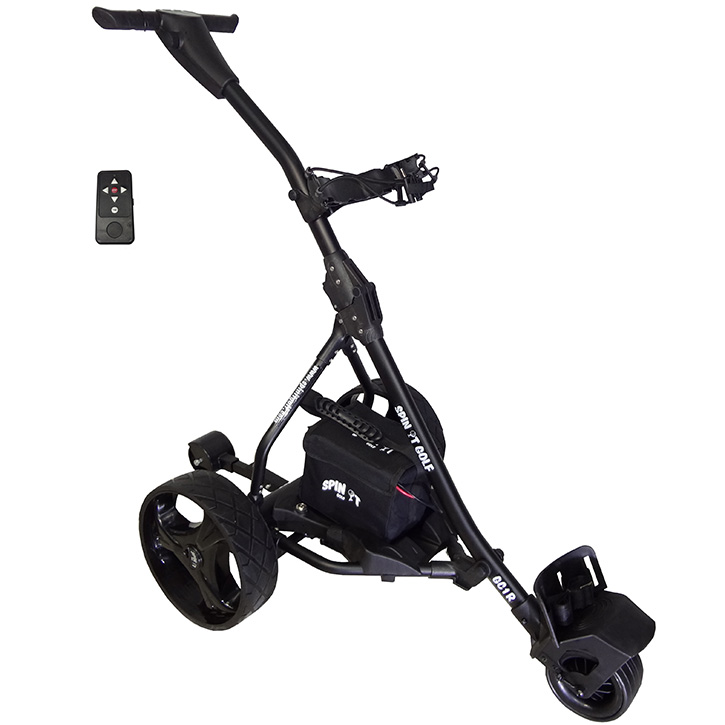 Spin It Golf Easy Trek Electric Push Cart At