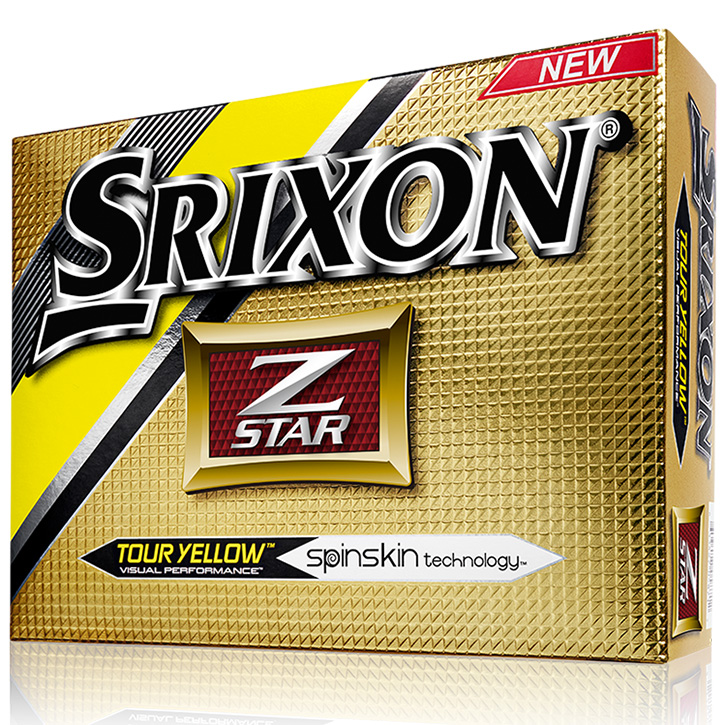 Srixon Z-Star Golf Balls (1 Dozen) - Yellow