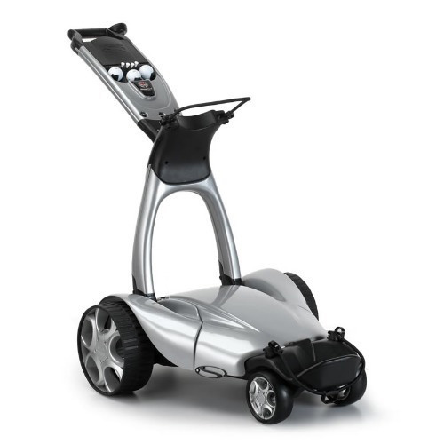 Stewart X9 Follow Electric Golf Push Cart w/ Free Accessories