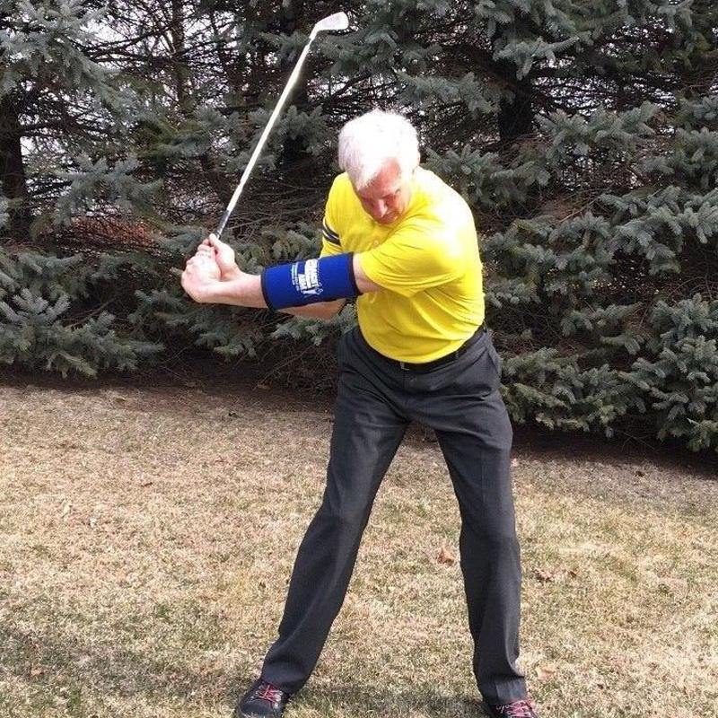 Straight Arm Golf Swing Trainer