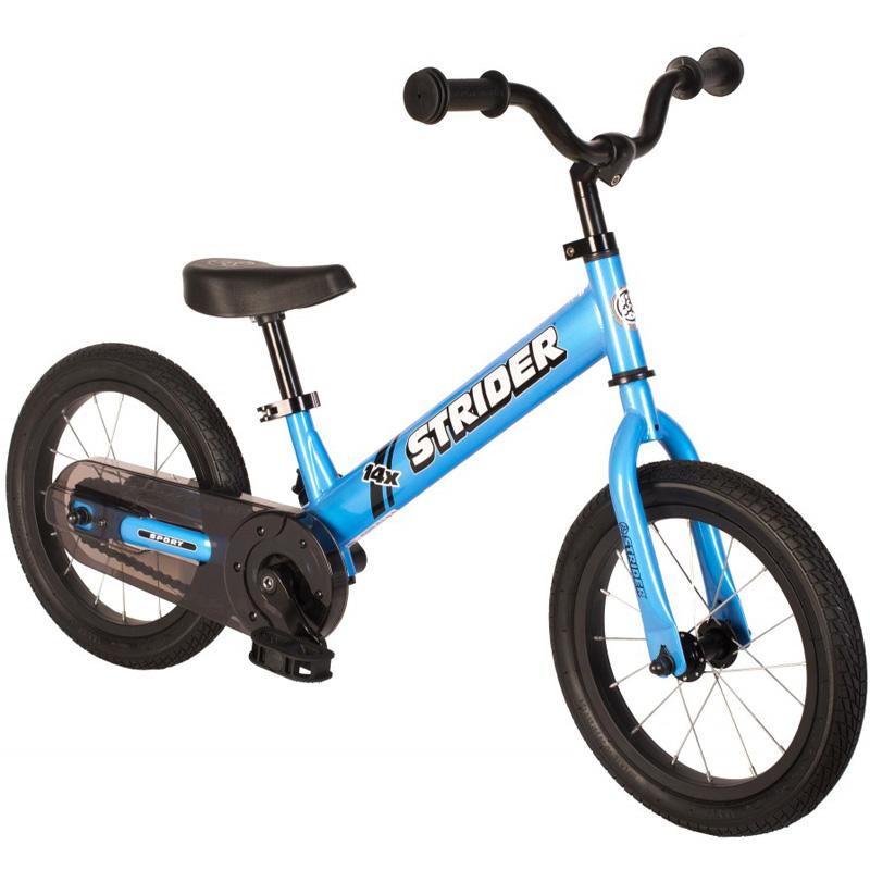 Strider 14x Sport Balance Bike - Blue