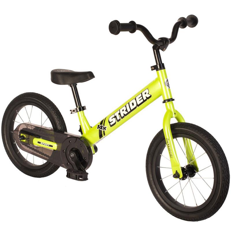 Strider 14x Sport Balance Bike - Green