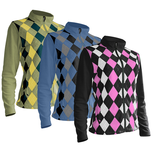 Sun Mountain 2013 Argyle Jacket - Womens