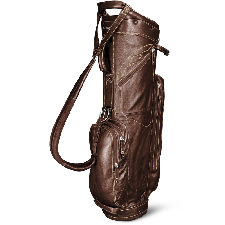 2016 Sun Mountain Leather Cart Bag