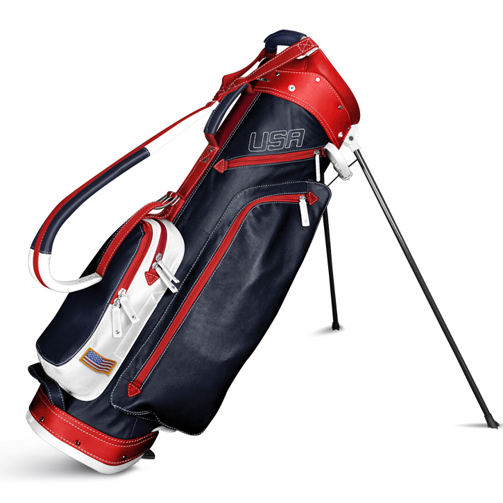 2018 Sun Mountain Leather Stand Bag