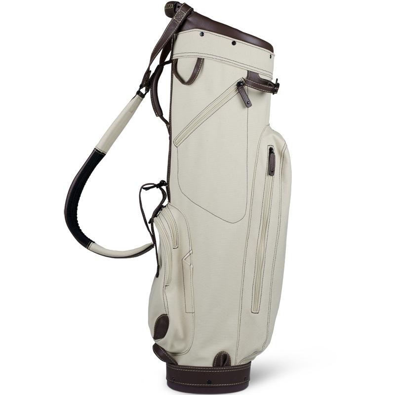 2018 Sun Mountain Canvas Leather Cart Bag