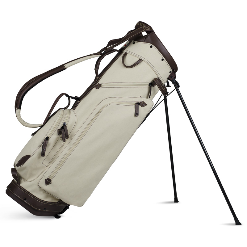 2018 Sun Mountain Canvas Leather Stand Bag