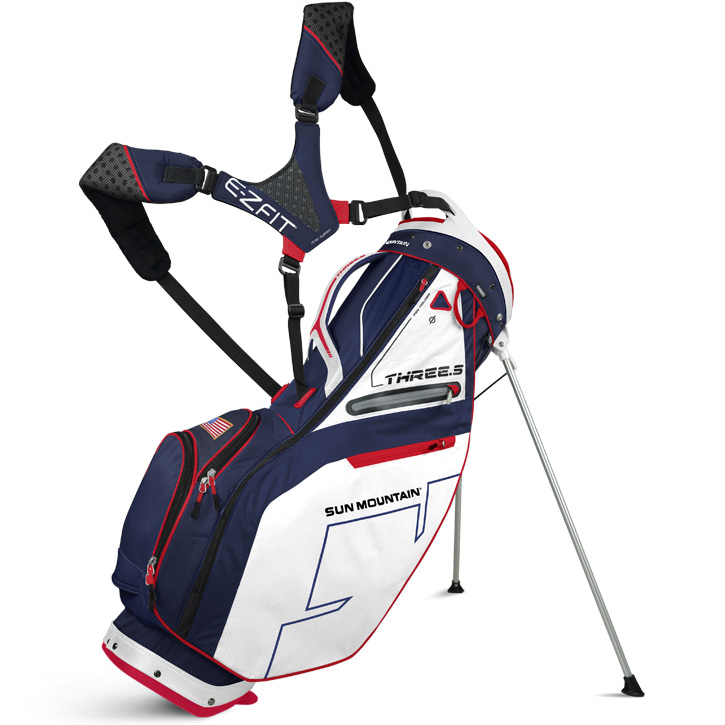 2016 Sun Mountain Three 5 Stand Bag