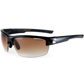 Sundog Draw Sunglasses - Mela Lens/Shiny Black