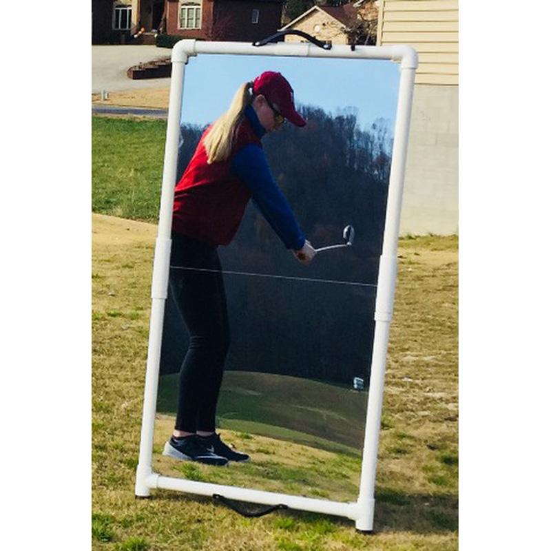 Swing Reflection Folding Golf Teaching Mirror