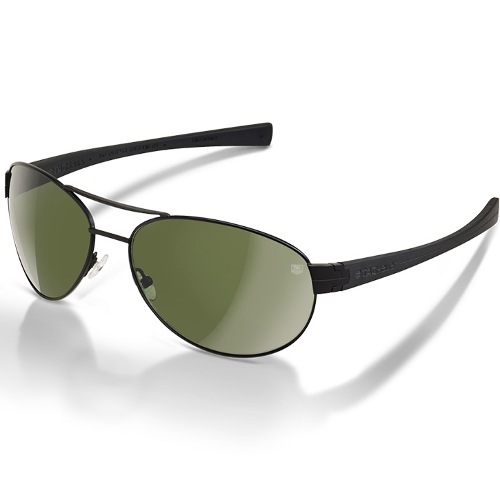 Tag Heuer LRS Sunglasses - Outdoor Green/Black