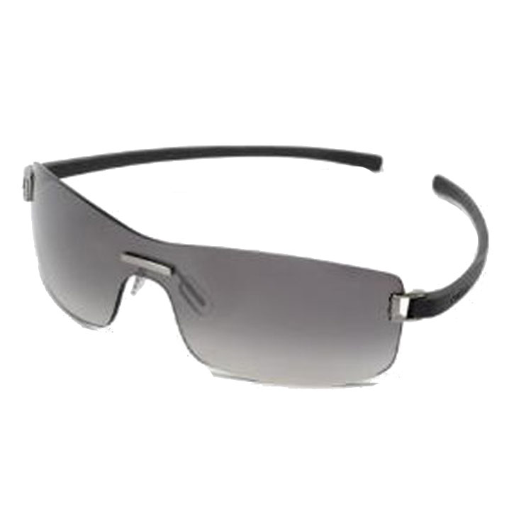 Image of Tag Heuer Club Sunglasses - Dark Grey Frame/Gradient Grey Outdoor Lens