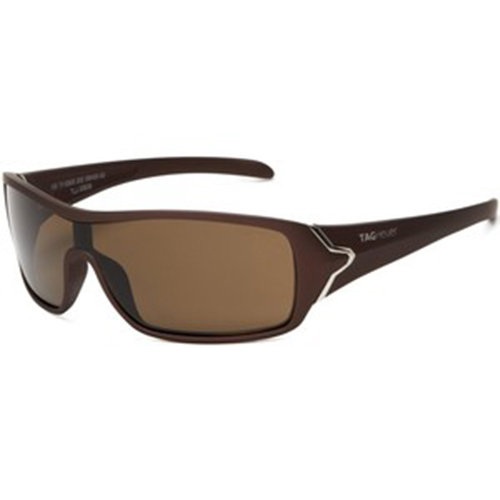 Tag Heuer Racer Sunglasses - Sand Frame/Brown Precision Lens