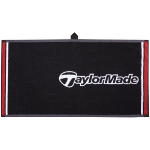 2012 Taylormade Players Towel Black White Red At