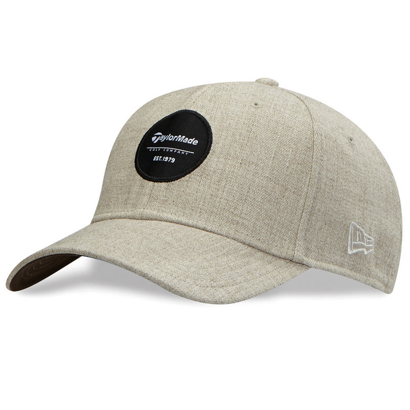 2016 TaylorMade 39Thirty Crest Golf Hat - Oatmeal Heather
