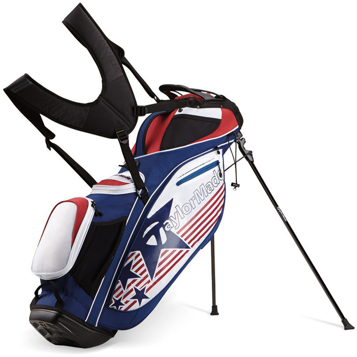 2016 TaylorMade TourLite Stand Bag - Stars & Stripes