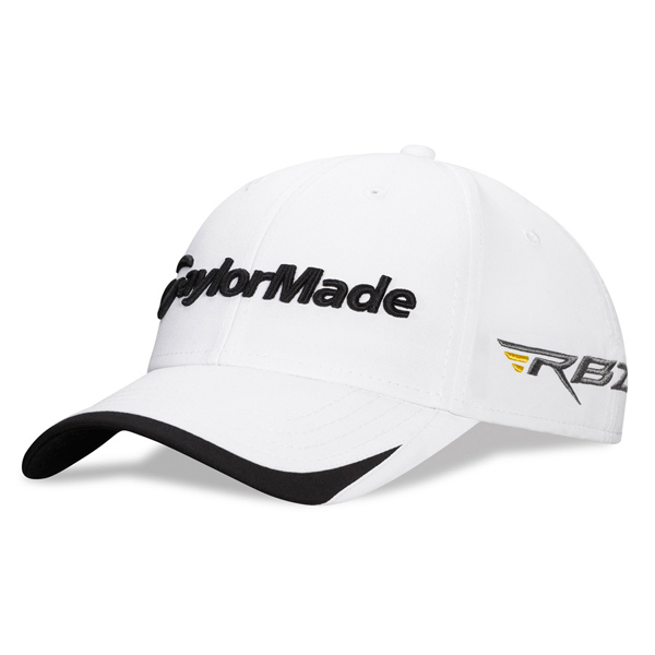 TaylorMade 2013 Tour Split Hat- White/Black