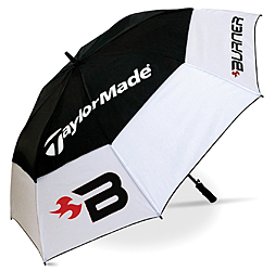 TaylorMade Burner Double Canopy Umbrella