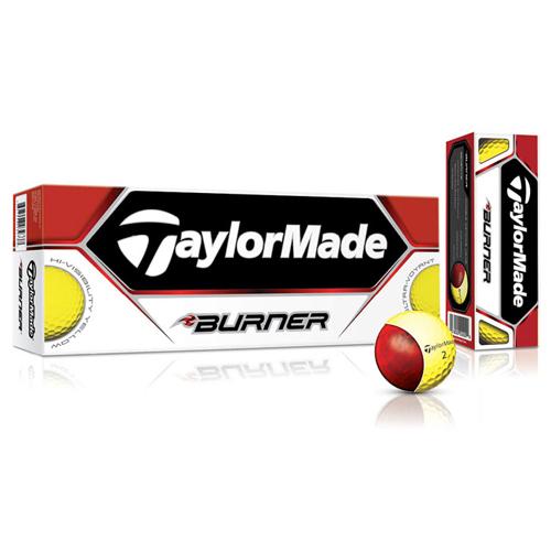 TaylorMade 2013 Burner Golf Balls - Yellow (1 Dozen)