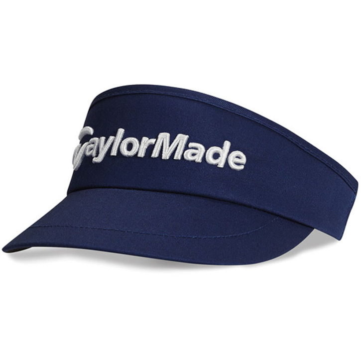 Taylormade High Crown Golf Visor - Navy at InTheHoleGolf.com ddc7306ec17