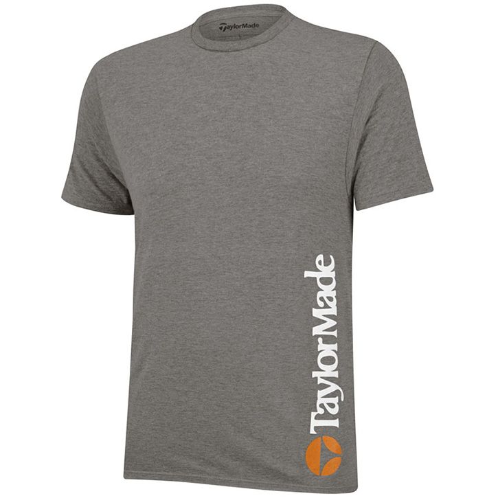 TaylorMade Heritage Bubble Golf T-Shirt - Platinum