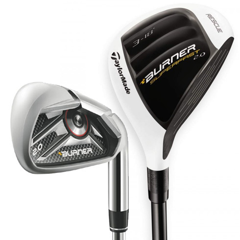 TaylorMade Burner 2.0 HP Combo Iron Set