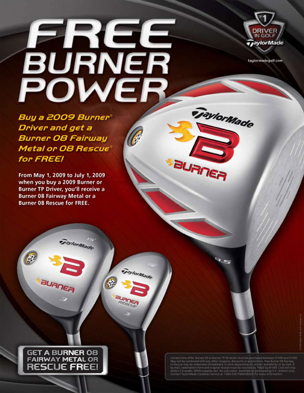 TaylorMade Driver Promotion