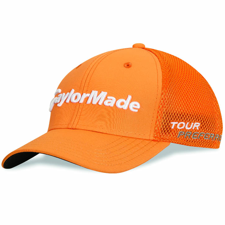 Taylormade Tour Cage Golf Hat Orange At Intheholegolf 47c537e2fbad