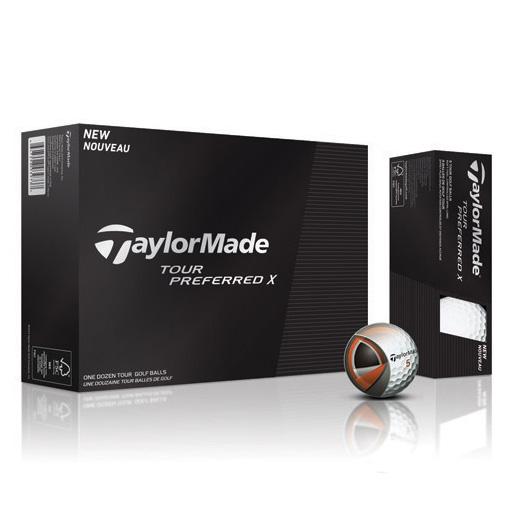 TaylorMade Tour Preferred X Golf Balls (1 Dozen) - Personalized