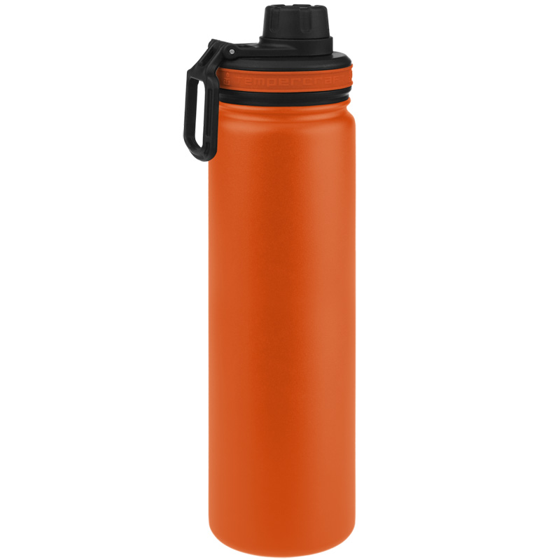 Tempercraft Insulated Water Bottle 22oz Sport - Orange