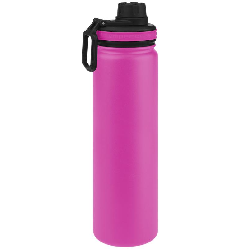 Tempercraft Insulated Water Bottle 22oz Sport - Pink