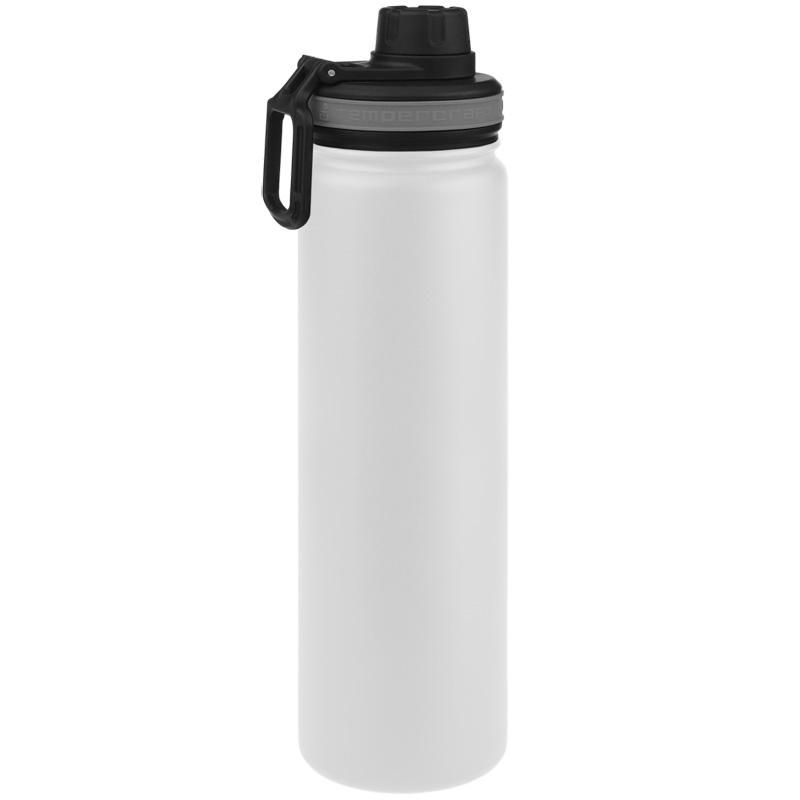 Tempercraft Insulated Water Bottle 22oz Sport - White