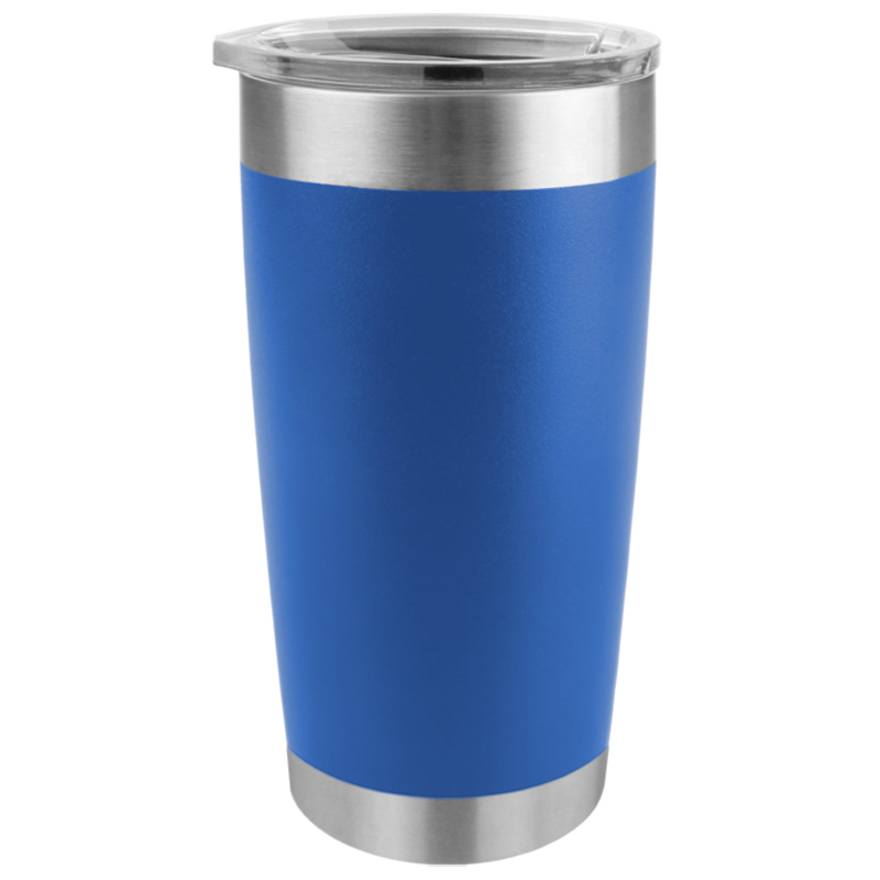 Tempercraft Stainless Steel Insulated Tumbler 20oz - Blue