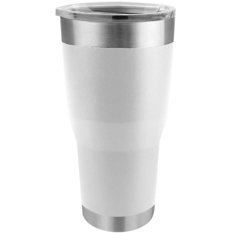 Tempercraft Stainless Steel Insulated Tumbler 28oz - White