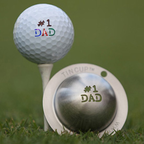 Tin Cup Golf Ball Marker - Fathers Day