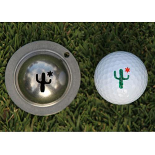 Tin Cup Golf Ball Marker - Cactus Cantina
