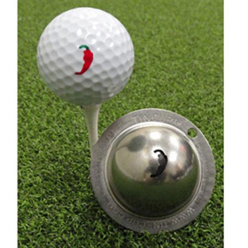 Tin Cup Golf Ball Marker - Chilli Pepper