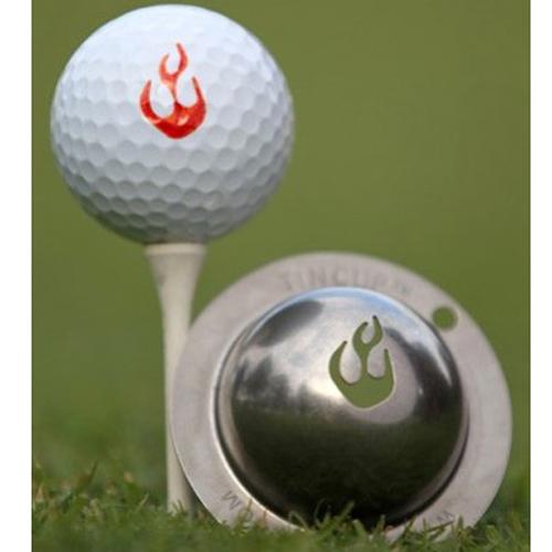 Tin Cup Golf Ball Marker - En Fuego