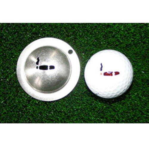 Tin Cup Golf Ball Marker - Havana