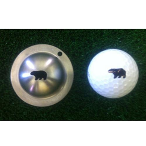 Tin Cup Golf Ball Marker - Hibernator