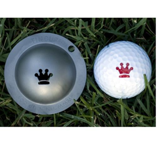Tin Cup Golf Ball Marker - Louis XIV