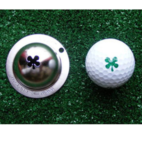 Tin Cup Golf Ball Marker - Luck of The Irish