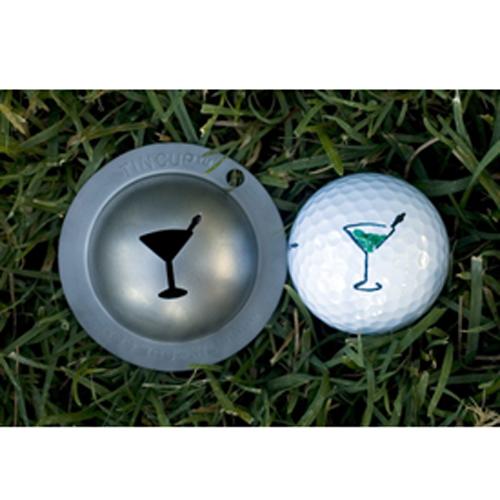 Tin Cup Golf Ball Marker - Martini