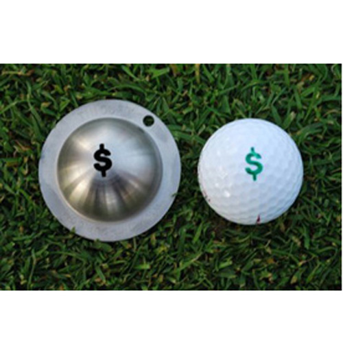 Tin Cup Golf Ball Marker - Nassau