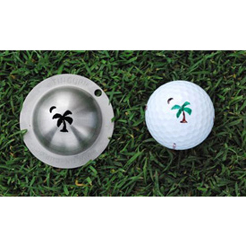 Tin Cup Golf Ball Marker - Palmetto Moon