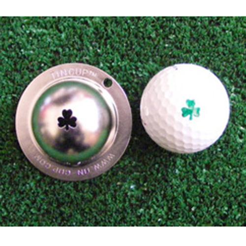 Tin Cup Golf Ball Marker - Shamrock