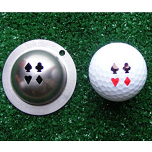Marker | Vegas | Mark | Golf | Ball | Tin | Cup